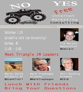Free Internet Marketing Consulting Saturdays Presents A MONSTER Free Meeting on 1.19 | Personal Branding Using Scoopit | Scoop.it