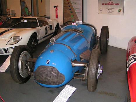 20060821 Le Mans (24) Musée Auto de la Sarthe Talbot Lago Record T26 GS 1950 | Histoire du sport automobile : le passé au présent... | Scoop.it