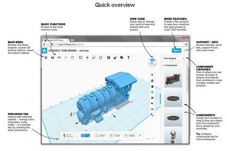 123D Design : un outil gratuit et puissant pour l'édition 3D | Je, tu, il... nous ! | Scoop.it