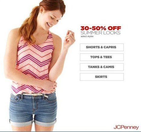 How to use Jcpenney coupon code 30% off | Transportation | Scoop.it