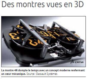 Des montres vues en 3D | FashionLab | Scoop.it