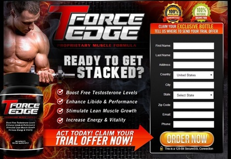 T Force Edge Review - GET FREE TRIAL SUPPLIES LIMITED!!! | T Force Edge Bodybuilding | Scoop.it