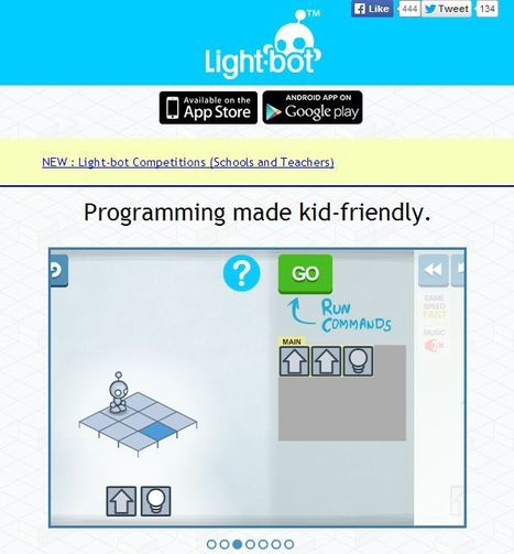 Light-bot: Get kids programming within minutes | Educatief Internet | Scoop.it