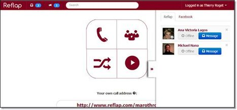 Reflap. Video Chat gratuit pour petits groupes. | Elearning france | Scoop.it