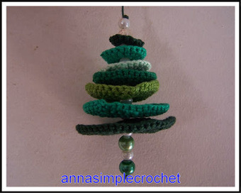 Annasimplecrochet: Sapin de Noël | CrochetHappy | Scoop.it