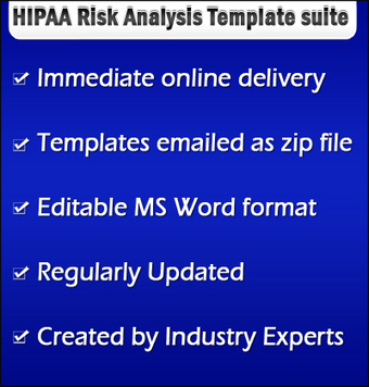 HIPAA Security Risk Analysis Template | Business Associate HIPAA Compliance Tool | Scoop.it