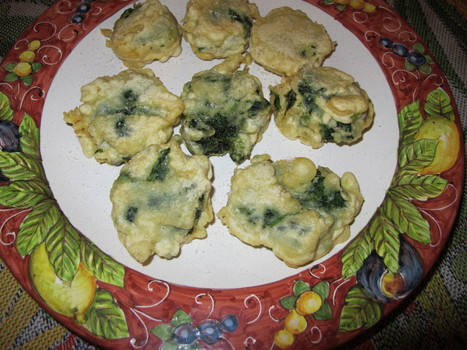 Edible Wild Herbs Recipes | Borage Fritters - Borragine Fritta | Le Marche and Food | Scoop.it