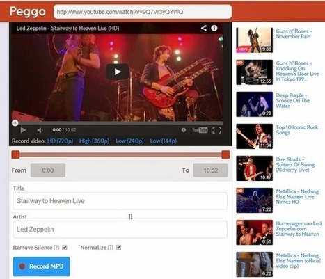 Téléchargement de videos et bande son youtube en ligne | netnavig | Scoop.it