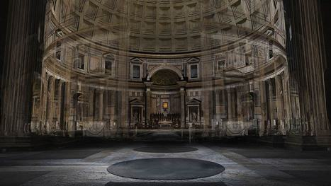 Scanning Rome's Invisible City | BBC One | visual data | Scoop.it