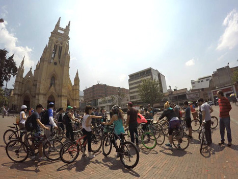 Colombian Cyclists: 'Reading' Bogotá on Two Wheels | Ebook and Publishing | Scoop.it
