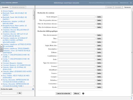 Logiciel open source de création de bibliothèques numériques avec indexation et recherche plein texte | | Campus numériques | Scoop.it