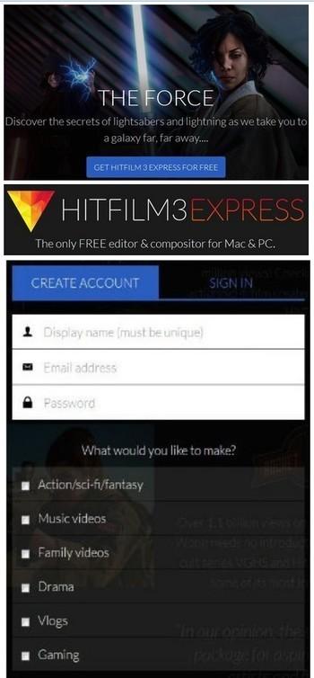 Offre Gratuite : HitFilm 3 Express 2016 Editeur video Compositing Effets 2D et 3D | photo : Gratuit | Scoop.it