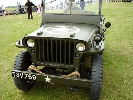 Willys MB Jeep vol3 – Walk Around | History Around the Net | Scoop.it