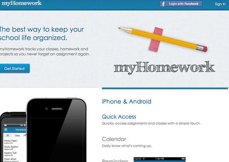 myHomework - App | Mobile Technology | Scoop.it