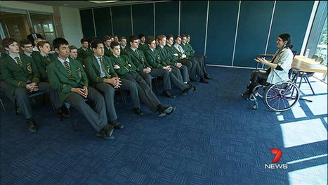 Making a Difference: Keeping young people safe - Yahoo!7 News Video | Everyday Leadership | Scoop.it