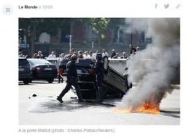 Guerre taxis contre VTC : les réseaux sociaux s'enflamment pour ... - Arrêt sur images | consultant en stratégies digitales et éditoriales | Scoop.it