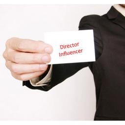 Se acabaron los directores ejecutivos, llegan los directores influenciadores | Empresa 3.0 | Scoop.it
