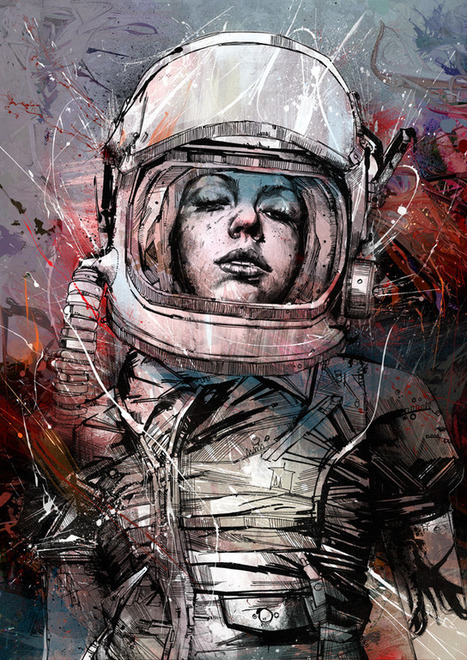 Digitally Assembled Paintings by Russ Mills | Colossal | Actualités Photos | Scoop.it