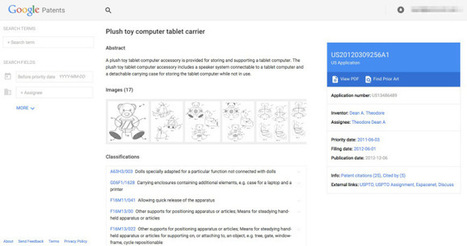 Google's New, Simplified Patent Search Now Integrates Prior Art And Google Scholar | Internet of Things - Technology focus | Scoop.it