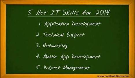 5 Hot IT Skills for 2014 | IT Staffing and Recruiting | Scoop.it