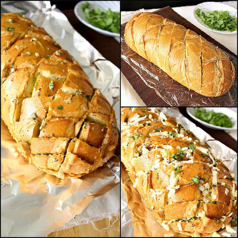 Food Wanderings in Asia: Stuffed Cheesy Bread on Crack   Recettes gourmandes attention calories   Scoop.it