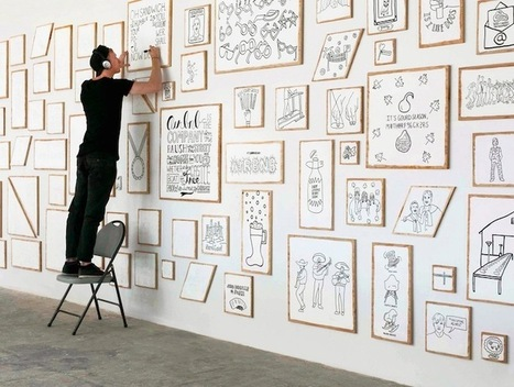 AirBnB's 60Ft Wall Represents Team's Shared Experiences | Inspiration | Scoop.it