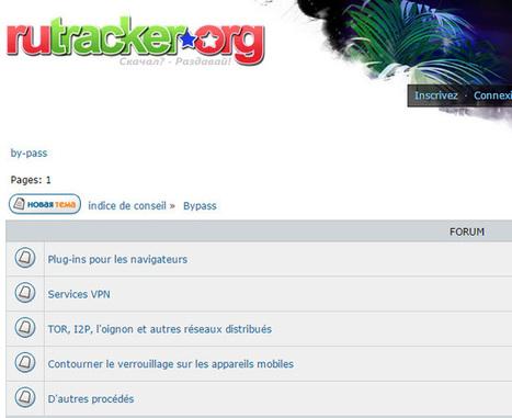 L'utilisation de Tor augmente en Russie après le blocage d'un site BitTorrent | Libertés Numériques | Scoop.it
