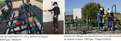 GRTgaz et MiddleVR dévoilent l'ITX VR | Utilities business & knowledge | Scoop.it