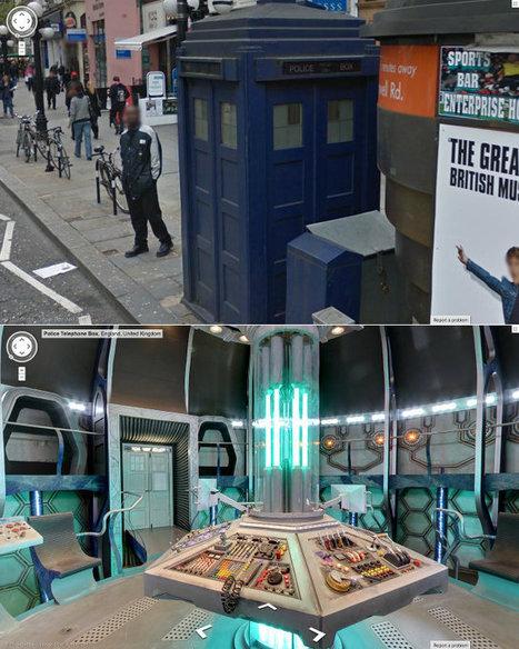 Tour The Interior Of The TARDIS In Google Maps | Geekologie | Whovian World | Scoop.it