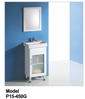 Rossto Vanities - Buy Glass Door Vanity P15-450G P15-450G at $197.00 Online | Custom Made Kitchens Renovation & Designs | Scoop.it