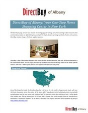 DirectBuy of Albany: Your One-Stop Home Shopping Center in New York | DirectBuy of Albany | Scoop.it