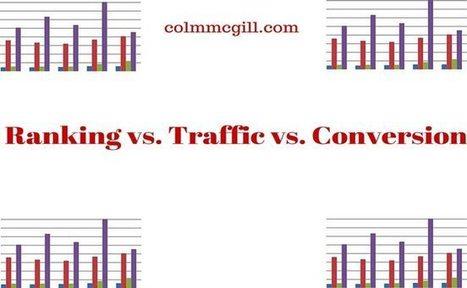 Ranking vs. Traffic vs. Conversion   Internet Marketing tips   Colm McGill   Small Business Marketing   Scoop.it