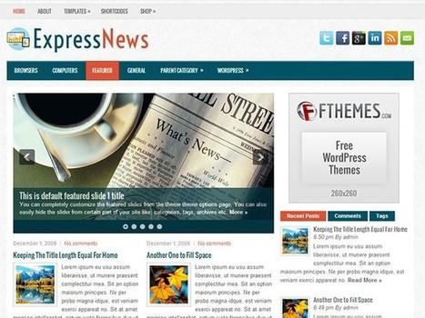 ExpressNews Free WordPress Theme | Webmasters | Scoop.it