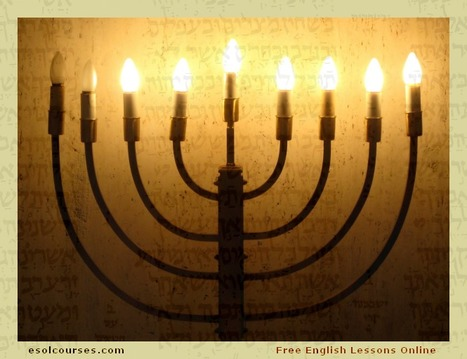 Hanukkah | Topical English Activities | Scoop.it