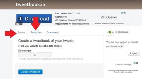 Twitter : comment créer un livre gratuit en 4 c... | comerce numerique | Scoop.it