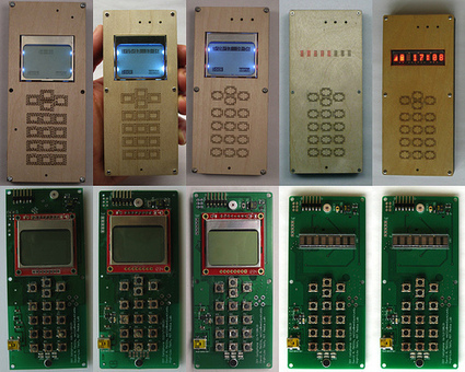Arduino Blog » Blog Archive » My open-source, do-it-yourself cellphone (built with Arduino). | Arduino, Processing | Scoop.it