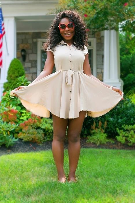 What To Wear | Flirty Burberry Short Dress - | Creative Stuff | Scoop.it