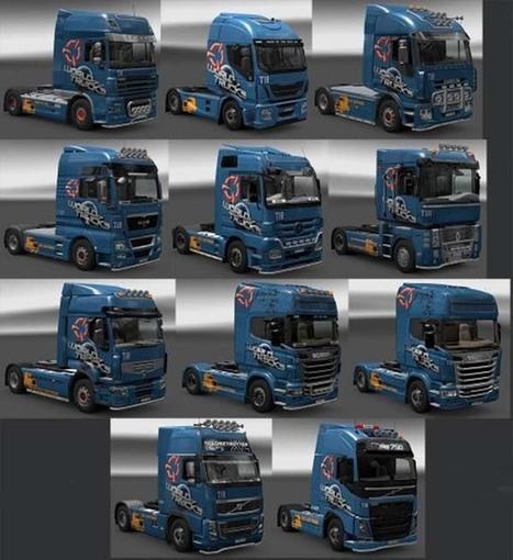 World Of Trucks Skin Pack ETS 2 Skins, Euro Truck Simulator 2 mods - Gamemoding.com | Game Mod Culture | Scoop.it
