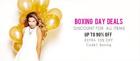 Special Boxing Day Online Deals & Sales 2014 – Dressve.com | Dressve fashion | Scoop.it