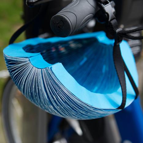 Foldable paper cycling helmet wins James Dyson Award   The New School   Scoop.it