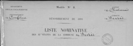 Recensement à Suris en 1891 | Châteauneuf et Jumilhac | L'écho d'antan | Scoop.it