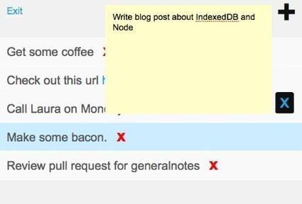 Building a Notes App with IndexedDB, Redis and Node.js Mozilla ... | Veille JS | Scoop.it