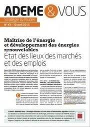 [Stratégie & études] Maîtriser l'énergie et le développement des énergies renouvelables | Emploi et formation dans le domaine de l'énergie et du développement durable | Scoop.it