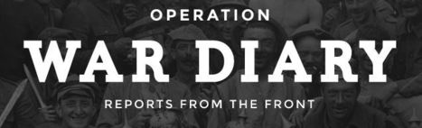 Operation War Diary | technologies | Scoop.it