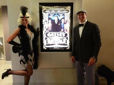 Drew Brees & His Wife Dressed Like 1920′s Jazz Enthusiasts to ... | 1920's and 1930's | Scoop.it