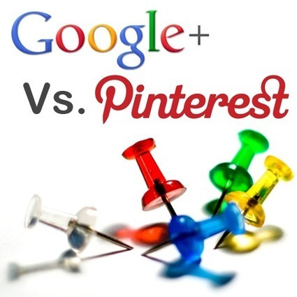 Pinterest vs. Google Plus | Social Media Today | Pinterest | Scoop.it