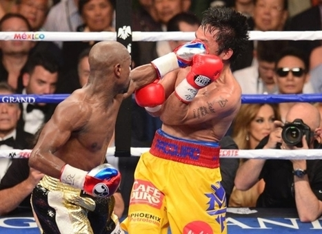 Mayweather outboxes Pacquiao | Ajarn Donald's Educational News | Scoop.it