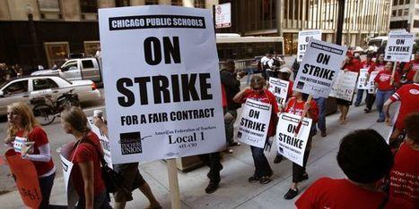 La grève des enseignants de Chicago s'invite dans la campagne | L'enseignement dans tous ses états. | Scoop.it