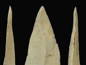 Des pierres de lance vieilles d'un demi million d'années | Aux origines | Scoop.it