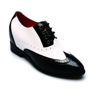 Wearing Chamaripa 2.56 inch Glazed Leather Black/wihte elevator Shoes you can get look taller 6.5cm instanly & invisibly.our Chamaripa elevator shoes for women.which is more comfortable. | chamaripa elevator shoes for women | Scoop.it